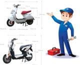 Sửa chữa, bảo dưỡng xe máy điện